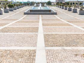 Pavimentação em Granito de Praças e Ruas, Porto, Portugal