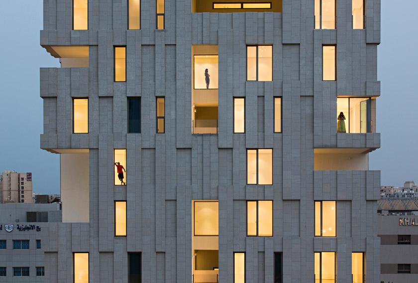 granite façade, fachada em granito amarelo gra2003