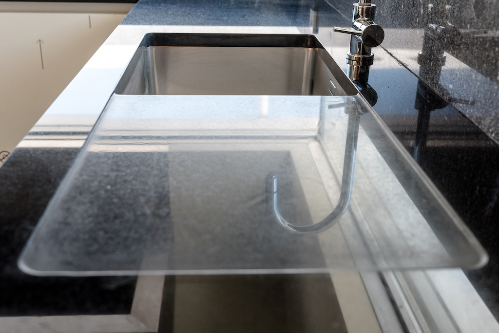 granite counter top polished