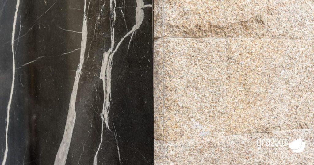 granite or marble