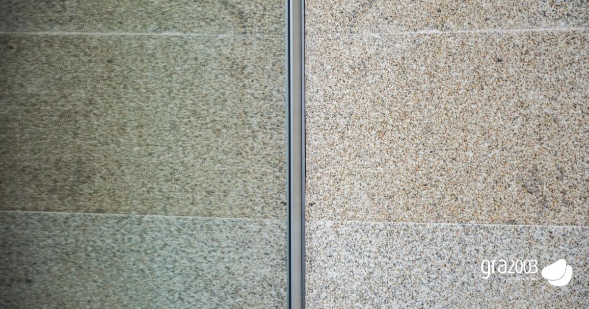 granito no interior de edifício