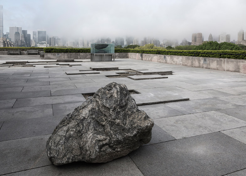telhado em granito