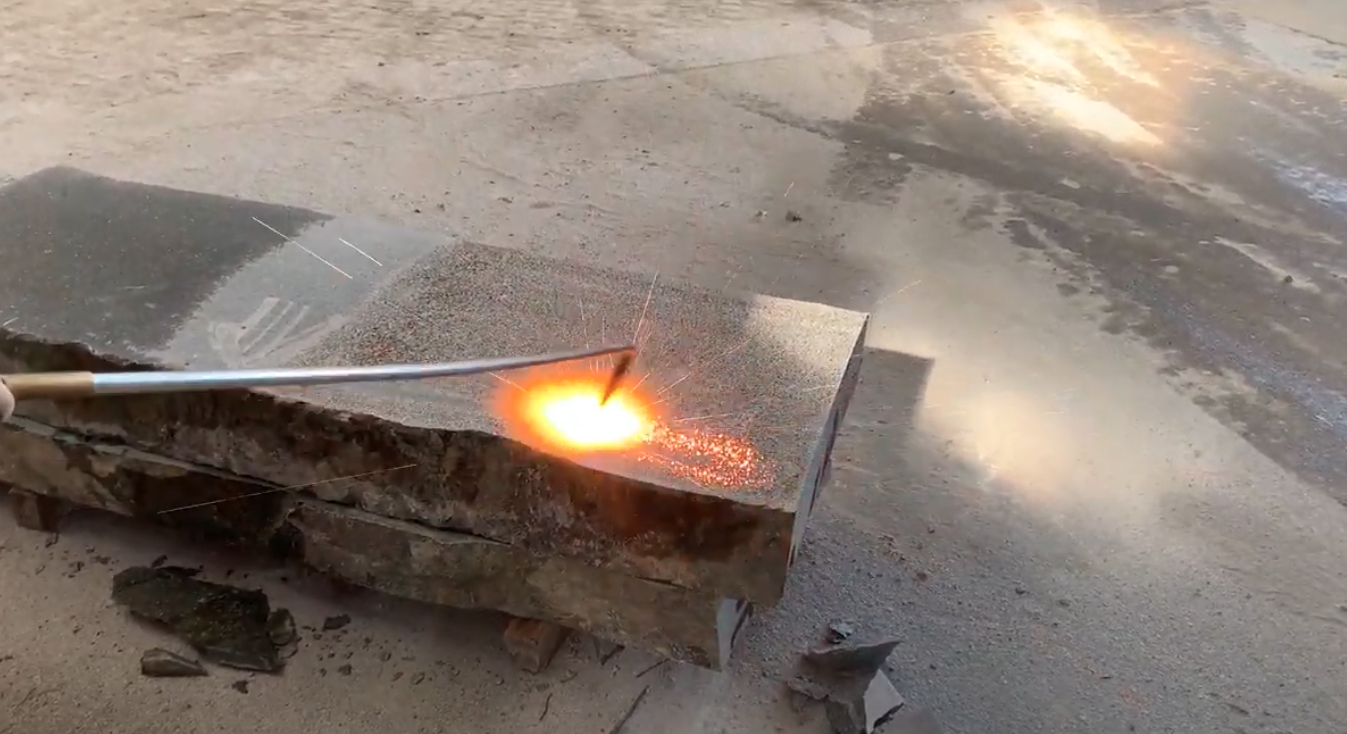 granito flamejado