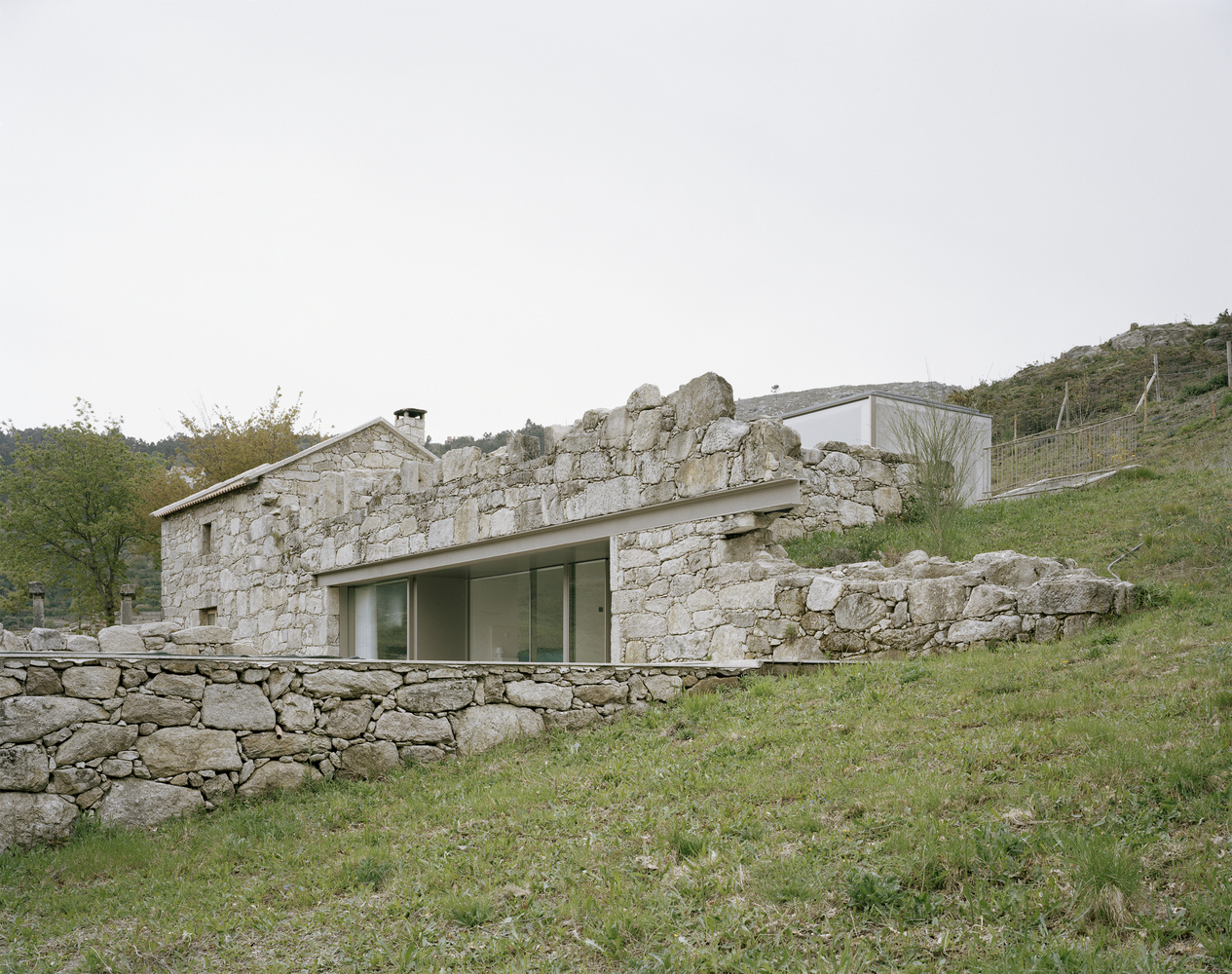 rehabilitação casa de granito